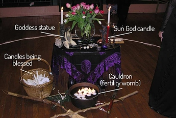 Imbolc-Altar-example