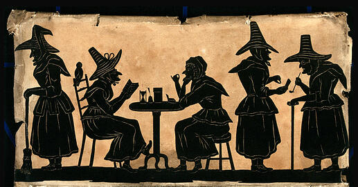 Witch Gathering Art