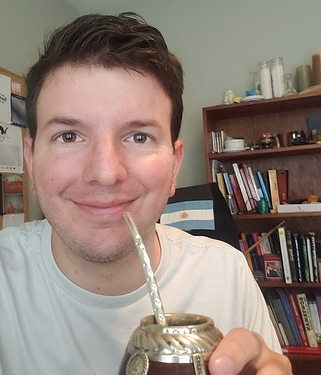 Drinking Mate as a friendship potion