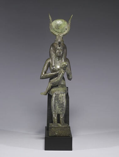Egyptian_-Isis_with_Horus_the_Child-_Walters_54416 (1)