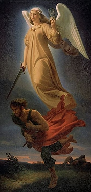Nemesis, 1837 by Alfred Rethel