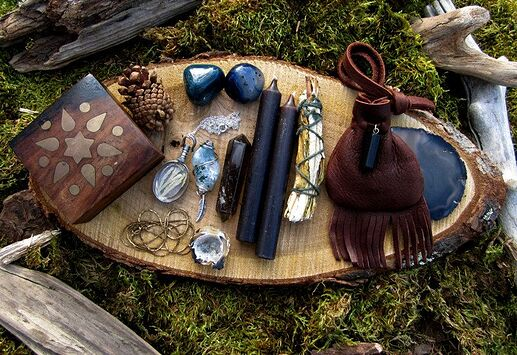Forest Witch Altar