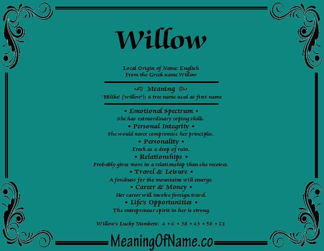 meaning-of-name-Willow