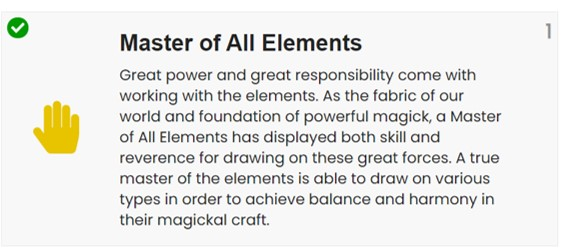 Master of Elements