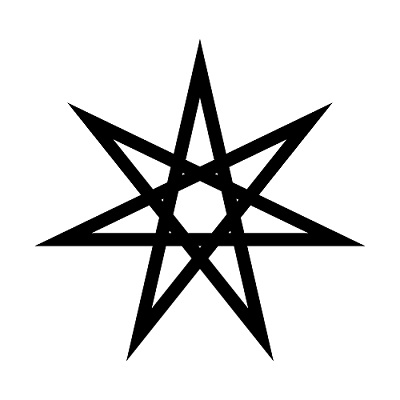 seven pointed star symbol of protection