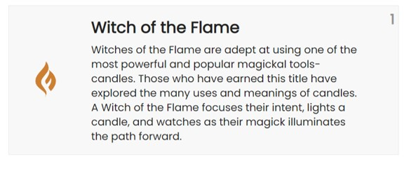 flame witch