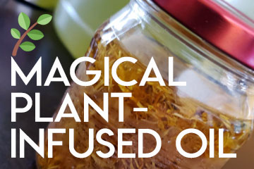 Magical-Plant-Infused-Oil-Recipe-thumb
