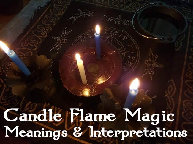 How to Read Candle Flames